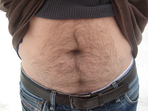 hairy-belly