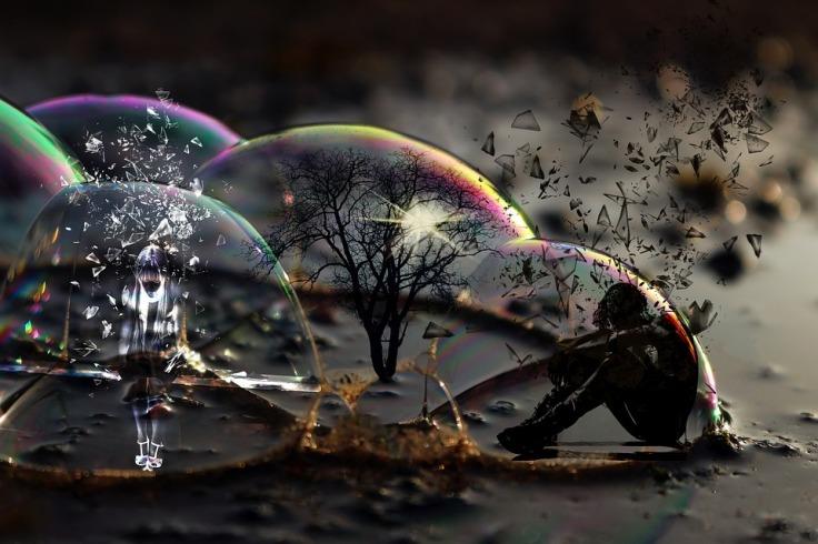 Depression escape reality through dreams